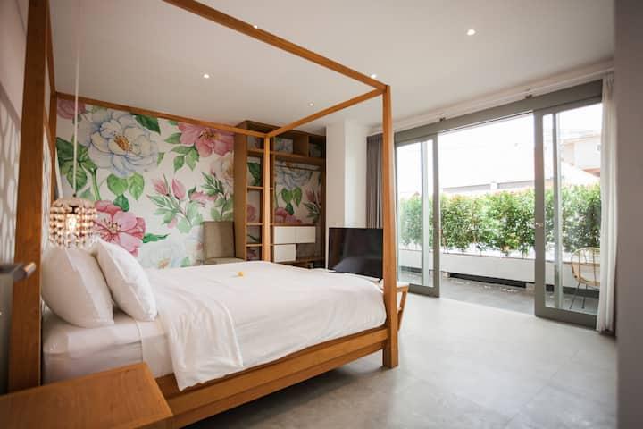 Camelia room at Semat 28 apartments Canggu
