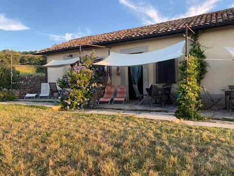very nice house in the Agriturismo Arcobaleno!