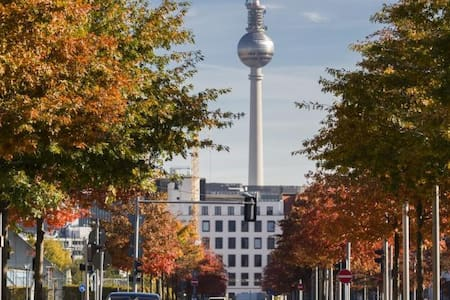 Beautiful autumn in Berlin! A cosy room for women