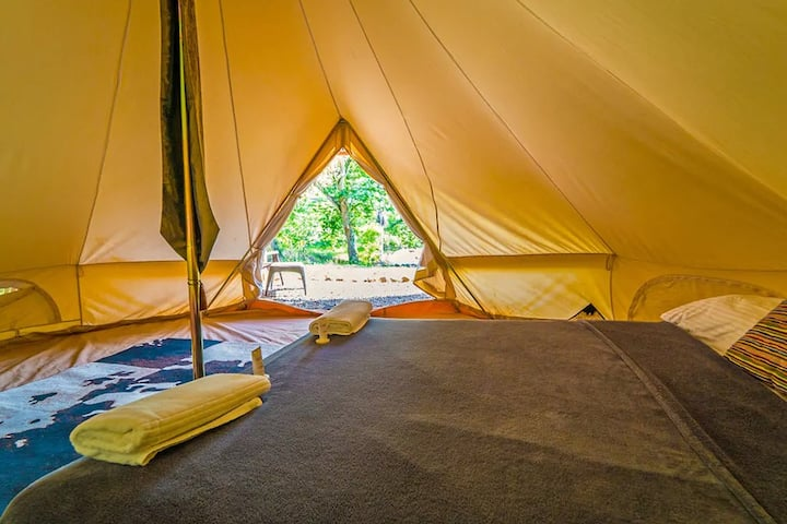 UNIQUE GLAMPING EXPERIENCE IN A LUXURY TENT ✔️