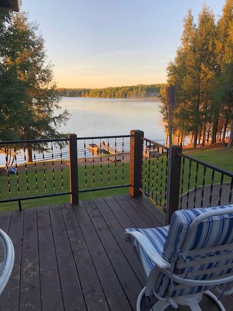 Cabin on Sunset Lake, Iron River, Mi