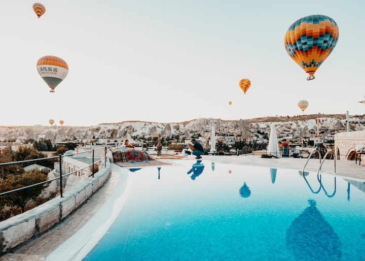 (Triple KingSuit  jacuzzi) Cappadocia Caves Hotel