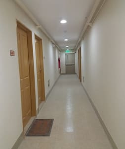 8th floor Hallway going to the room