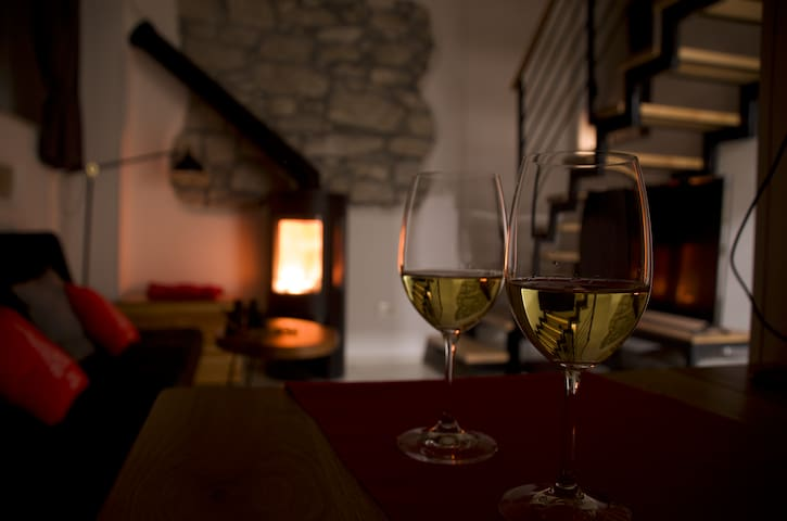 Stylish studio apartment in central Istria