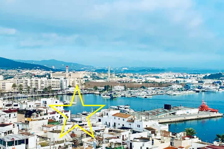 Verd_Apartment in Ibiza_ Old Town Port