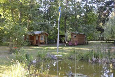 "Private and unique ""Pond Cottage"" in Freeland, WA"
