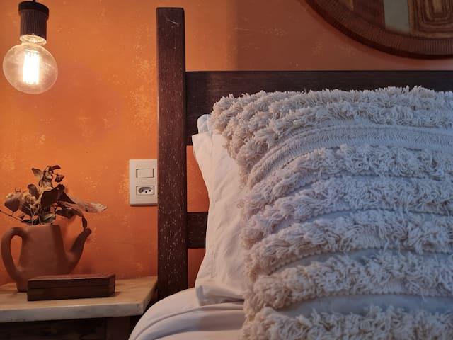 Sente a paz e harmonia do nosso quarto?
