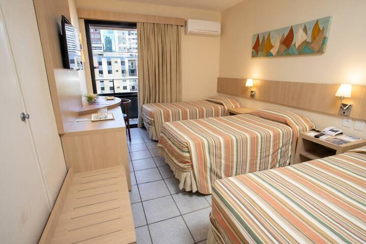 HOTEL DIOGO_STANDARD (VISTA CIDADE) DUPLO SOLTEIRO