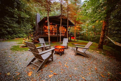 Valley View Cabin Catskills, 15 Private Acres