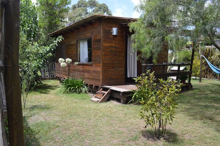 Cabaña de madera en Punta Negra