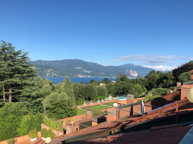 Casa Maggiore - lake and mountain views, pool