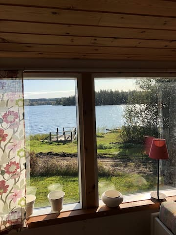 Cottage at the lake between Nora and Karlskoga.