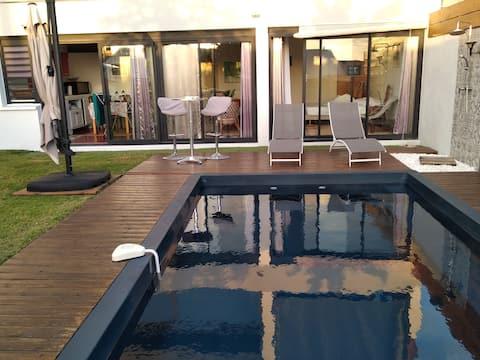 Studio RdC avec piscine - Hauts de l'Ouest