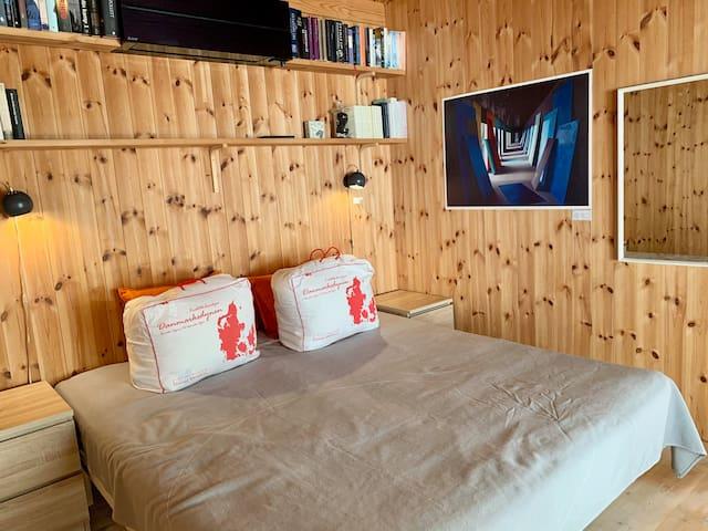 Soveværelse i hovedhus