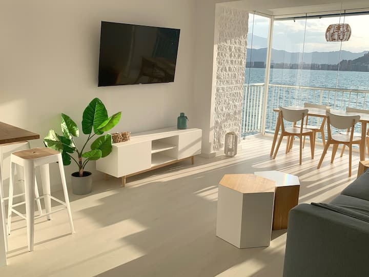 Sunset Cullera stylish apt new 1ª linea Vistas-Mar