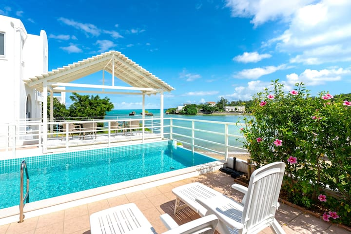 0min to sea! Near Blue cave. Luxe villa with pool!