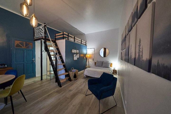 40m2 apartment in old house