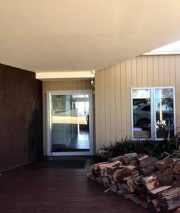 Large door over 90cm wide with no steps
