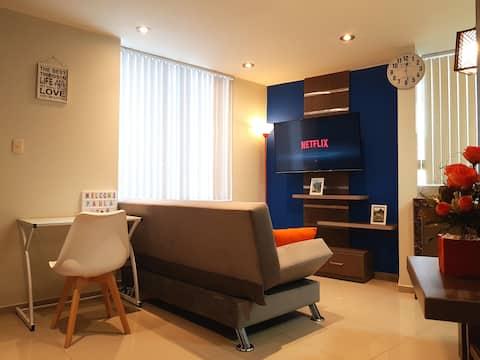 Impresionante Apartamento/Estudio, Arte y Confort.
