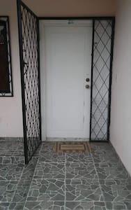 Entrance to the house  entrada a la casa