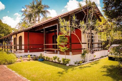 Casa segura para hospedagem - Chácara Mariel