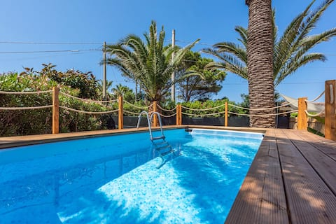 Villa Paradis - piscina indipendente - 20 mt mare