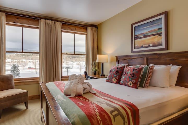 One Bedroom Luxury Suite at Teton Springs Lodge