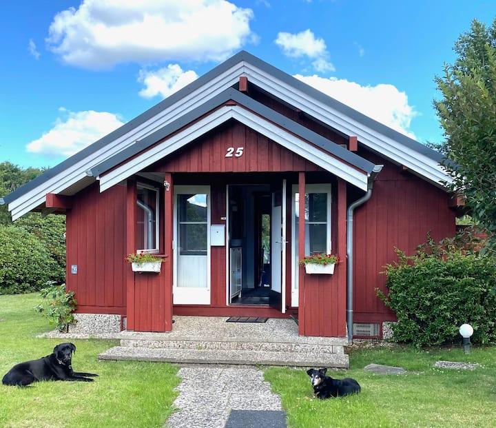 Schwedenhaus am NOK - Hunde willkommen!