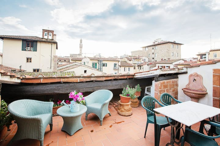 25%Off!Outstanding Penthouse with Terrace by Duomo