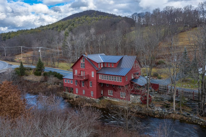 Historic VT Grist Mill on the Williams River