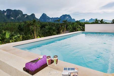PRIVATE POOL villa - BreathtakingViews