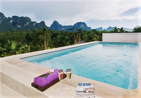 PRIVATE POOL villa - BreathtakingViews