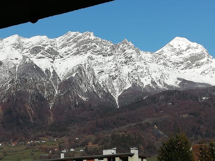Les 2 Savoie 100m2 tout équipé aux pieds massifs