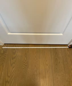 Door entrance is 37 inches wide.