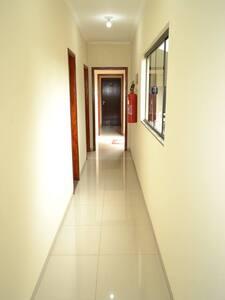 Ausência de degraus para entrada nos quartos térreos