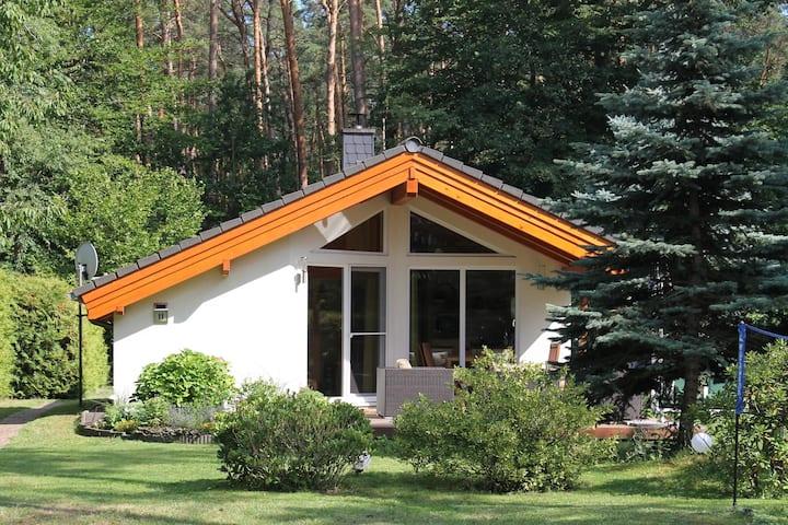 Haus Eva am Wald mit schöner Terrasse und Kamin