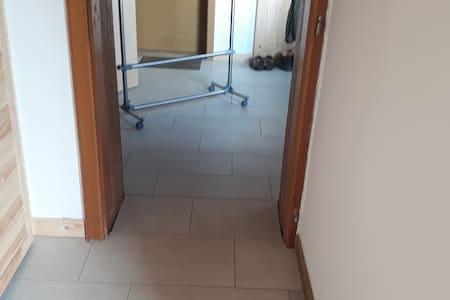 Der schmaleste Durchgang ist 75 cm breit.
