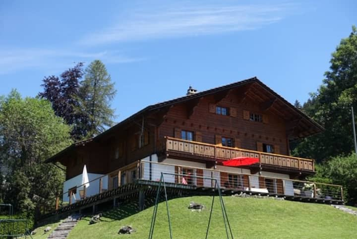 Gorgeous and spacious chalet near the center