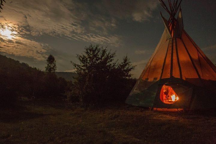 Indiański namiot Tipi