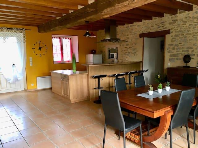 Maison agréable proche Cosne sur Loire