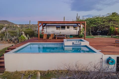 Exclusive Airstream with Private Pool & Ocean View