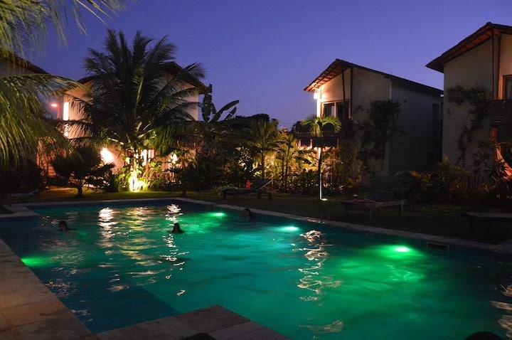 Costa Verde Deluxe Room @ pousada Chill Mango