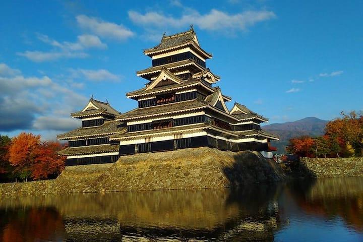 城下町 Hostel みんか松本 日本文化に触れてください。