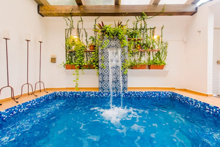 Casa Flores Mx, alberca privada y comodidad Cancún