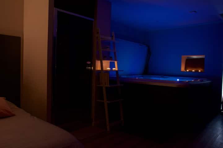 Studio au calme avec spa
