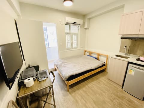 A 3ppl Double Bed PX3 Studio 2min CausewayBay MTR