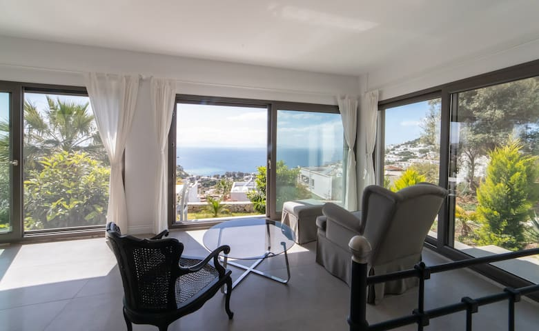 Surrounded with a great landscape and beautiful sea view