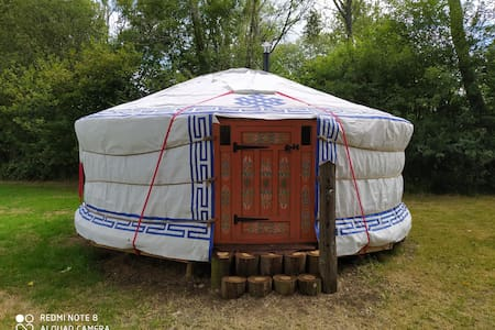 A yurt to glamp in with friends and family