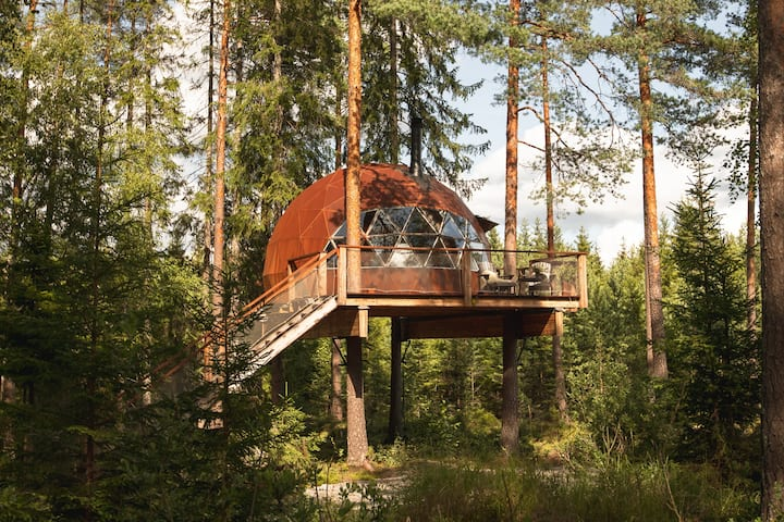 TreehouseDome close to Oslo