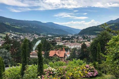 Gemütliche Unterkunft am Sonnenhang von Brixen